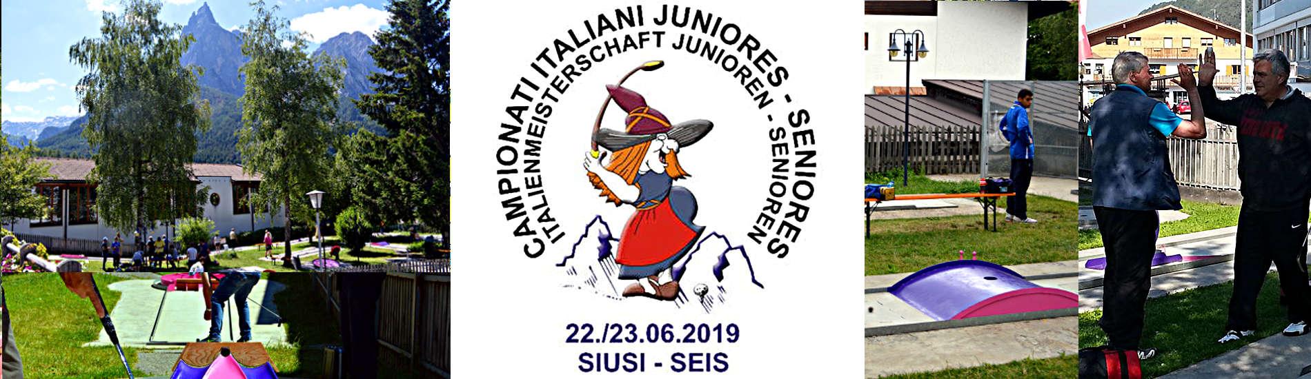 Campionati Junior e Senior 2019
