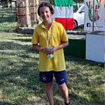 Matteo Diotti nono assoluto ai Campionati italiani 2019