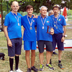 M.M.S.C. Rapallo terzo posto a squadre Memorial Monga 2019