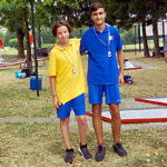 Podio categoria Junior-Scolari Memorial Monga 2019