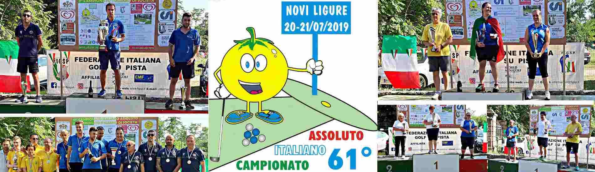 I Campioni italiani assoluti 2019