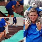 Federico Bussotti in allenamento - Campionati Europei Liepaja 2019