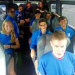 Il gruppo della Nazionale Junior 2019 in trasferta agli Europei di Liepaja