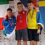 Ryan Giroldini medaglia d'argento Europei Junior Liepaja 2019