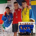 Ryan Giroldini medaglia d'argento matchplay Campionati Europei Junior Liepaja 2019