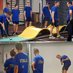 Allenamenti Nazionale italiana Junior - Europei Liepaja 2019