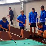 Prove recuperi durante allenamenti Campionati Europei Junior - Liepaja 2019
