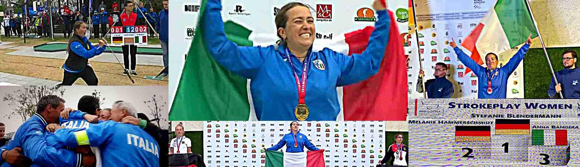 Anna Bandera Campionessa Mondiale 2019